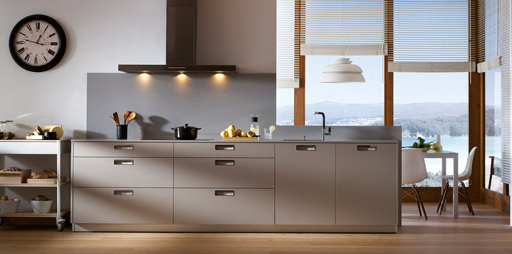 comodidad y son temas en las cocinas modernas
