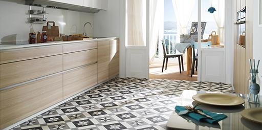Suelos de cocina muebles de cocina discesur decoraci n - Suelo vinilico cocina ...