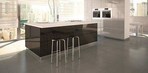 Suelos de cocina muebles de cocina discesur decoraci n - Suelos para cocinas rusticas ...