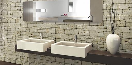Azulejos Baño Piedra Natural:La piedra natural es quizás el material de construcción más antiguo