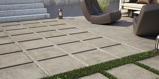 Cer mica exterior cer mica discesur decoraci n en madrid for Suelos de ceramica para terrazas