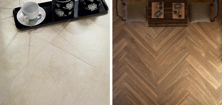 Suelos de madera y de cer mica ventajas e inconvenientes - Suelo de ceramica imitacion madera ...
