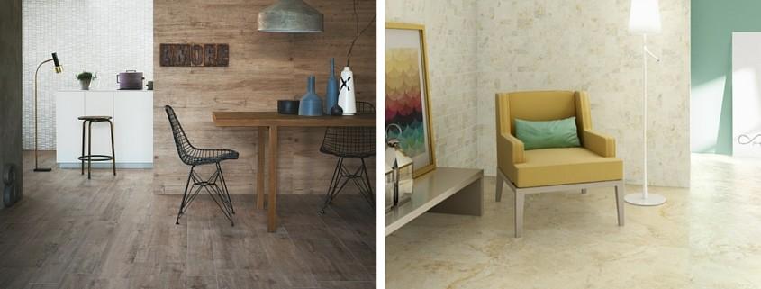 Suelos de madera y de cer mica ventajas e inconvenientes for Suelo economico para interior