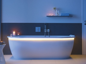 El baño es el mejor lugar de desconexión.