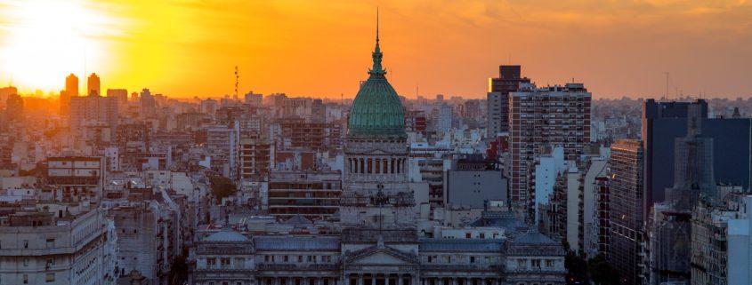 Atardecer en Buenos Aires Argentina