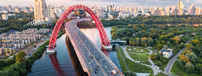 Zhivopisny Bridge en Moscu
