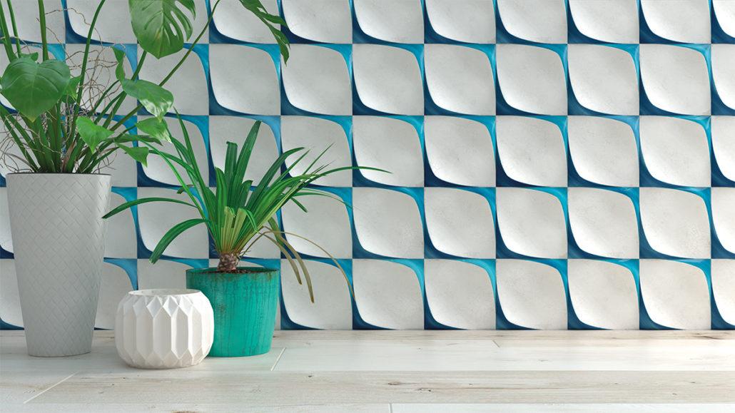 Diseño de la colección Blanc et Blue de WOW