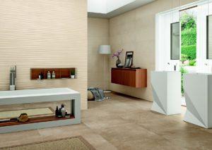 Baño con vestidor de diseño