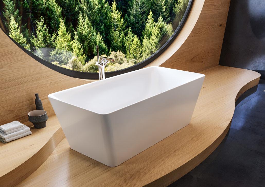 Bañera exenta de diseño de Kaldewei.