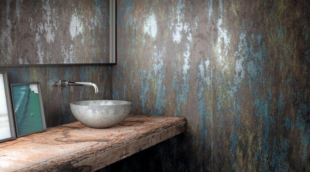 Los diseños degradados son una de las tendencias en cerámica para el 2021.
