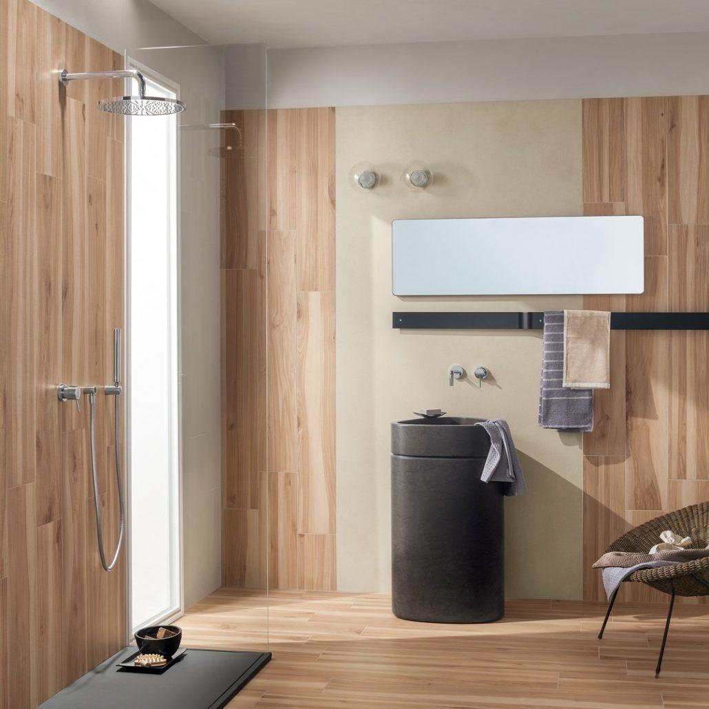 Diseño de los baños en Tokio.