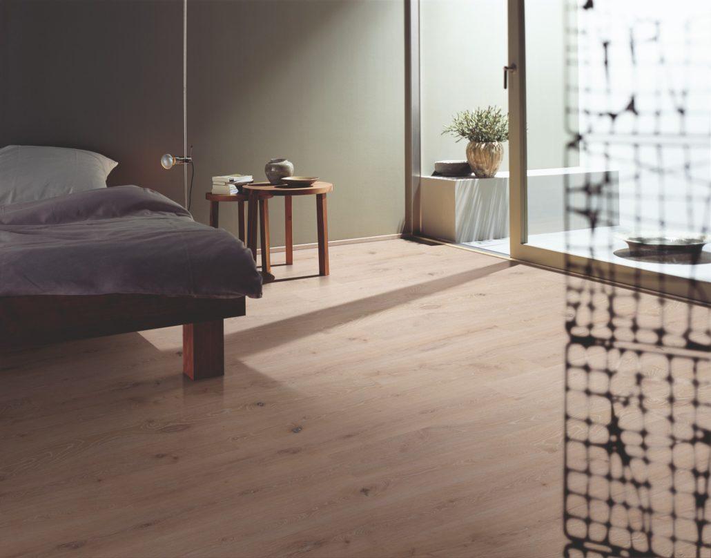 Instalación de suelos de madera de parquet
